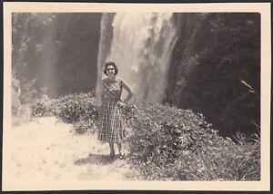 YZ2052 Terni - Cascata delle Marmore - Fotografia d'epoca - 1957 vintage photo