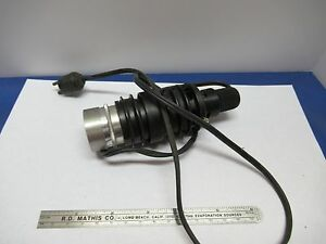 AO-AMERICAN-ILLUMINATOR-LAMP-HOLDER-CABLE-OPTICS-MICROSCOPE-PART-AS-IS-amp-85-12