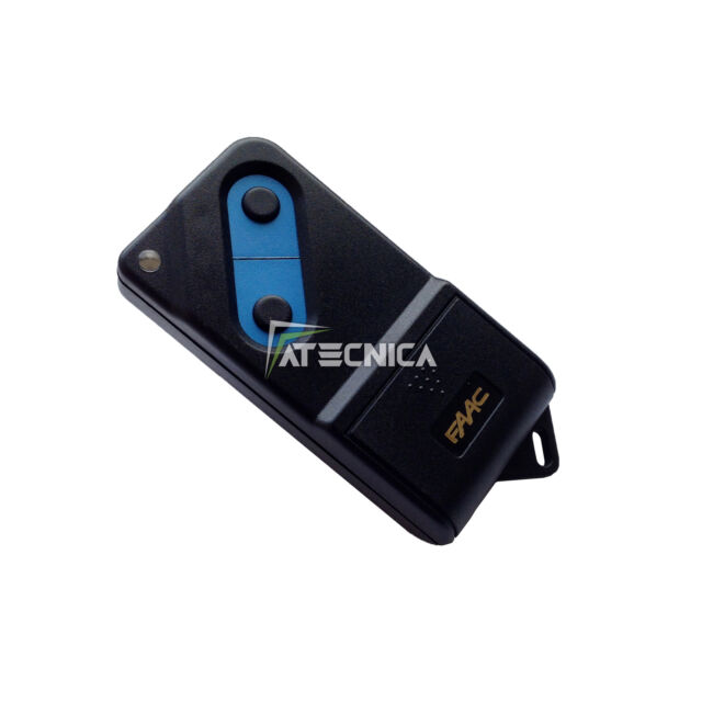 TELECOMANDO RADIOCOMANDO FAAC 2 TASTI TM2 433 DPH DS ORIGINALE CON DP SWITCH