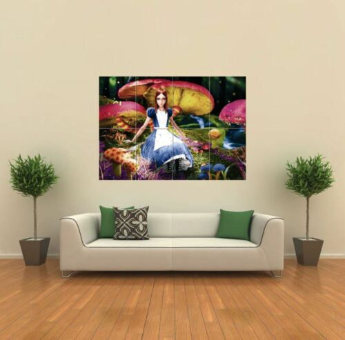 Alice In Wonderland Giant Wall Art Poster Print