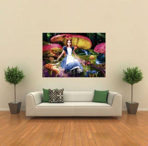 Alice In Wonderland Giant Wall Art Poster Print