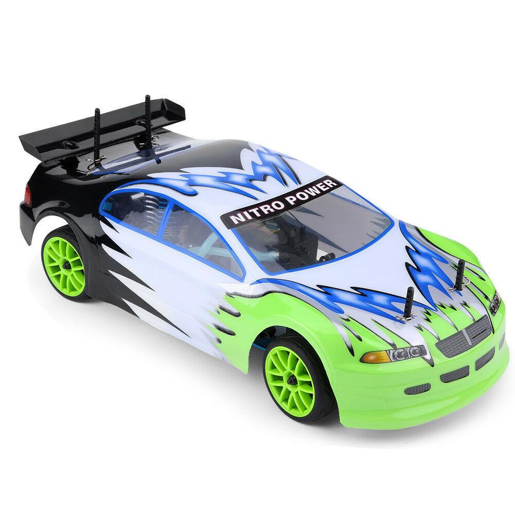 HSP 1 10 Nitro Su Strada Touring auto-Due velocità RC auto alimentata a GAS modellololo del veicolo