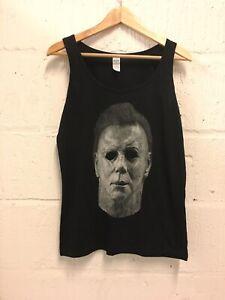 Michael Myers Halloween Tank top Ladies Vest Size L Never Worn John Carpenter