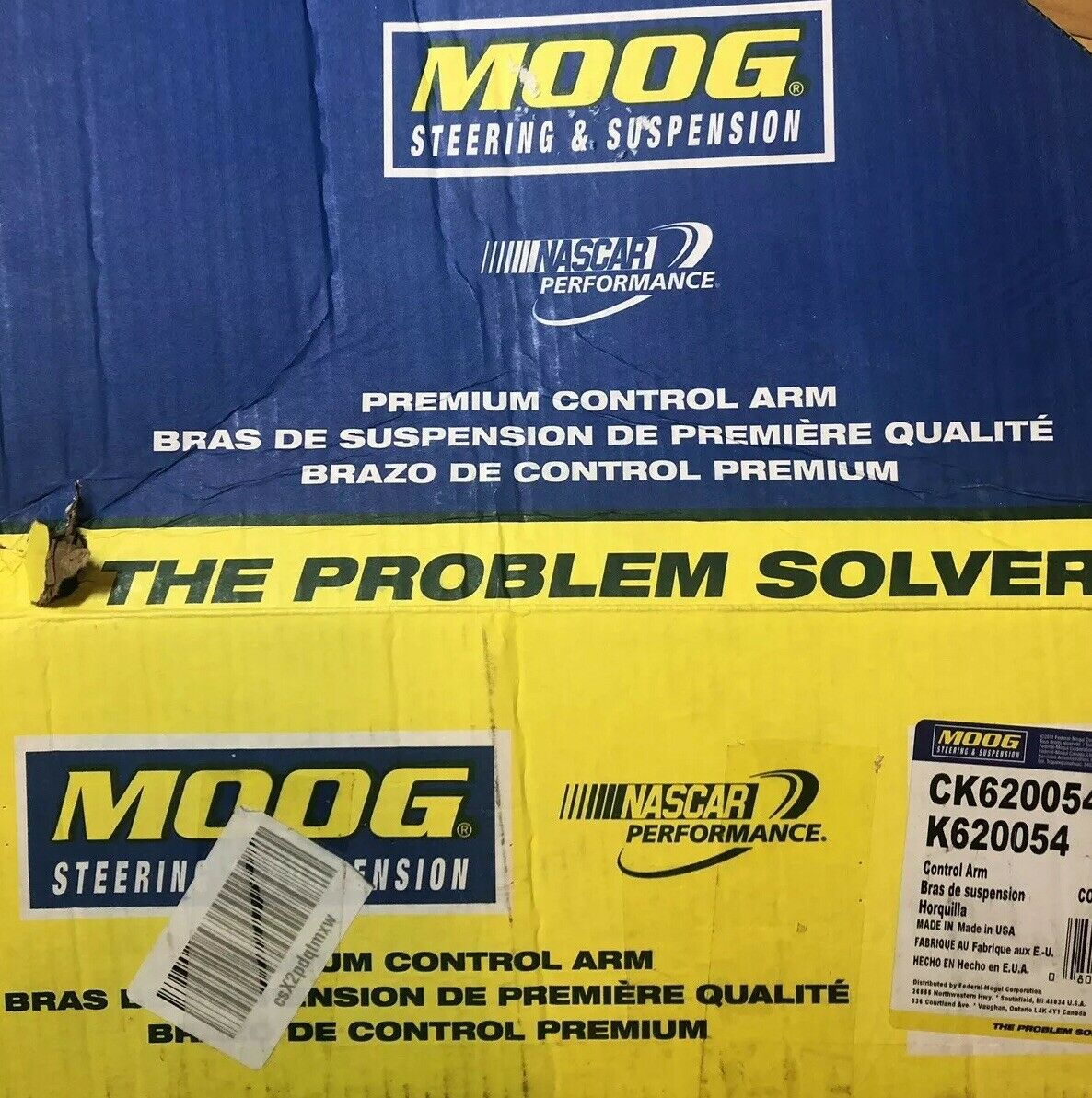 Moog CK620254 Control Arm and Ball Joint Assembly