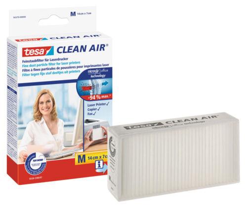 tesa Clean Air Feinstaubfilter Tonerstaub Filter M 14 cm x 7 cm Kopier Fax Laser
