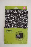 Style 365 Elibrium Desingfolio Dark Brown Floral Patterned Ipad Mini Case