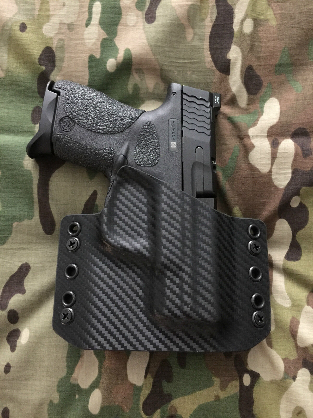 Carbon Fiber Kydex Holster Holster Holster for M&P Shield 9/40 d4bc84