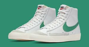 scarpe casual vendita economica a piedi scatti di Details about Nike Blazer Mid 77 size 13. Lucid Green Sail. BQ6806-300.  Vintage low off white
