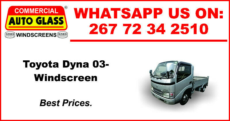 Windscreen For Toyota Dyna 2003  For Sale.