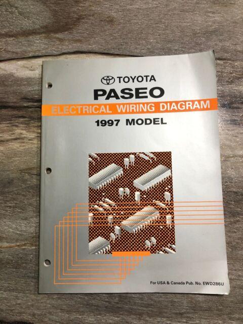 1997 Toyota Paseo Oem Evtm Electrical Wiring Diagram