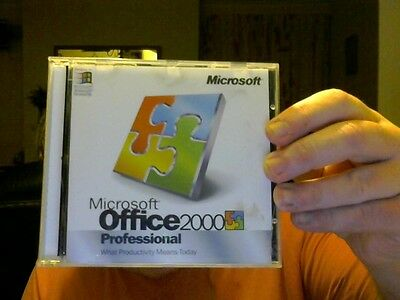 MICROSOFT OFFICE 2000 PROFESSIONAL UPGRADE 2 PC CDS GREAT GIFT CHARITY