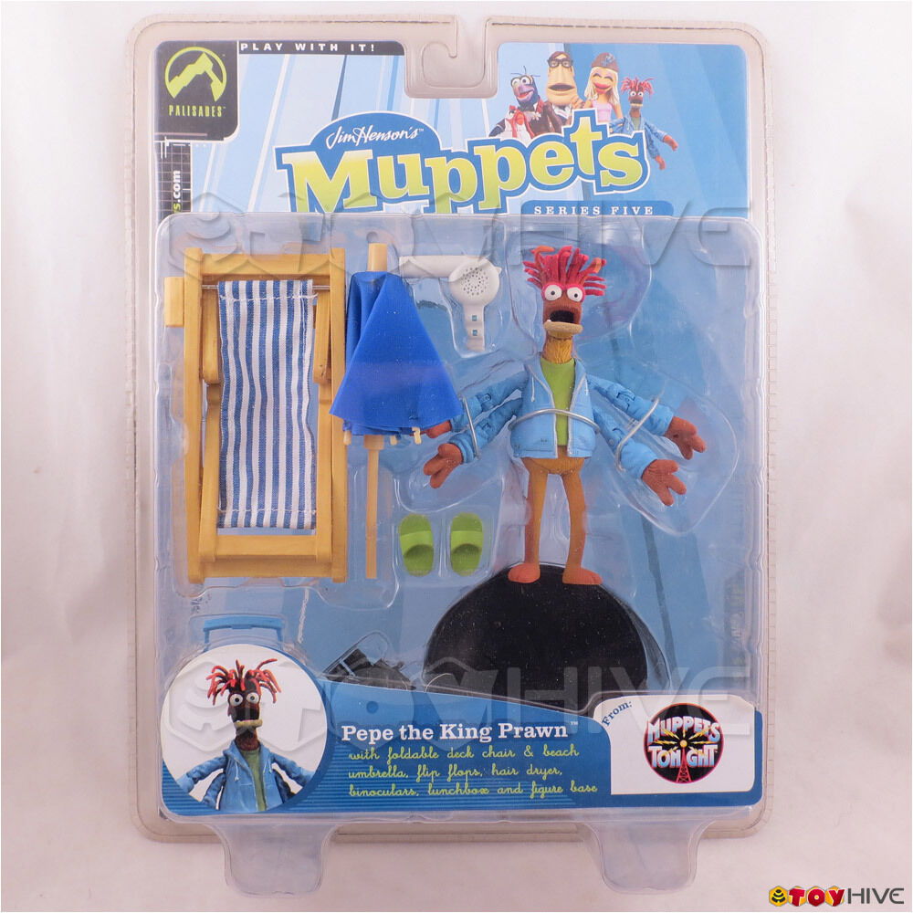 Muppet Show Pepe the King Prawn series 5 figure by Palisades Toys