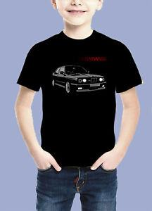 BMW-M3-Power-Kinder-T-Shirt-Schw