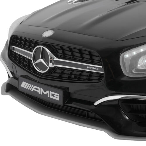 Black 12V Kids Ride On Car Mercedes W//Remote Control Battery Wheel Electric Car