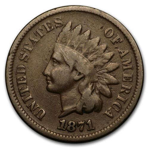 SKU#149321 1871 Indian Head Cent VG