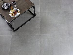 Bodenfliese Titan Grau Matt 60x60cm Feinsteinzeug Bodenfliesen