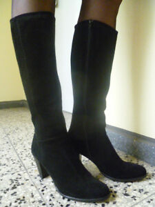 Gr Italien Stiefel 38 Damen Ludwig Schwarz Görtz q7Iv4v