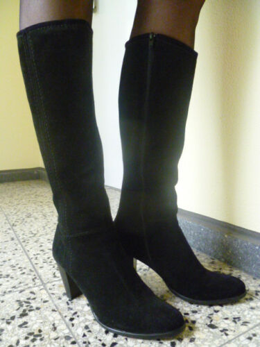 38 Gr Schwarz Stiefel Görtz Damen Italien Ludwig 6wFzqc