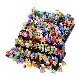 24Pcs Tomy Different Styles Pokemon Figures Model Collection 2-3cm Pokémon Pika