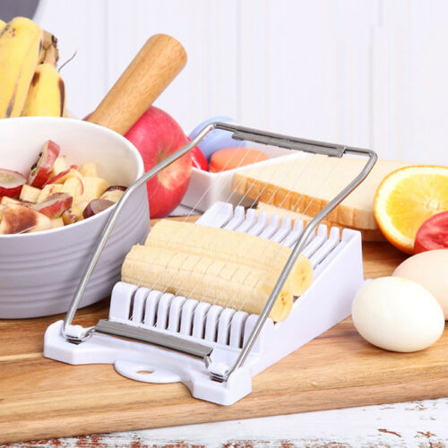 Stainless Steel Wire Cutting Food Slicers Bean Curd Spam Egg Slicer Anti-rust S