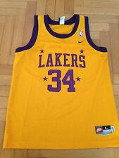 Canotta Jersey Nba O'Neal Lakers Nike 14 16 Youth Jordan Basket VTG Los Angeles