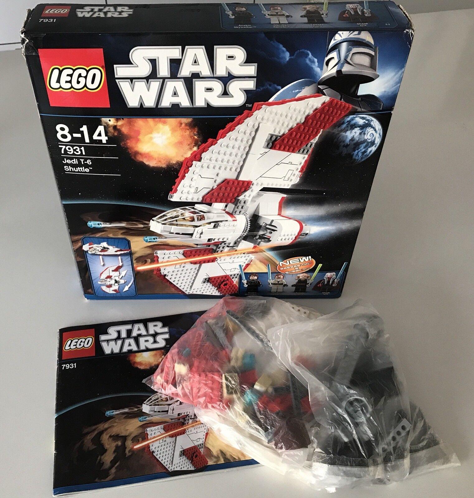 LEGO STAR WARS 7931 T-6 Jedi Shuttle, BA + OVP