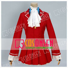 Cosonaen Game Street Fighter KARIN Cosplay Costume Red Full Set Costume Made