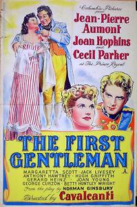 FIRST-GENTLEMAN-1948-Jean-Pierre-Aumont-Joan-Hopkins-UK-20x30-POSTER