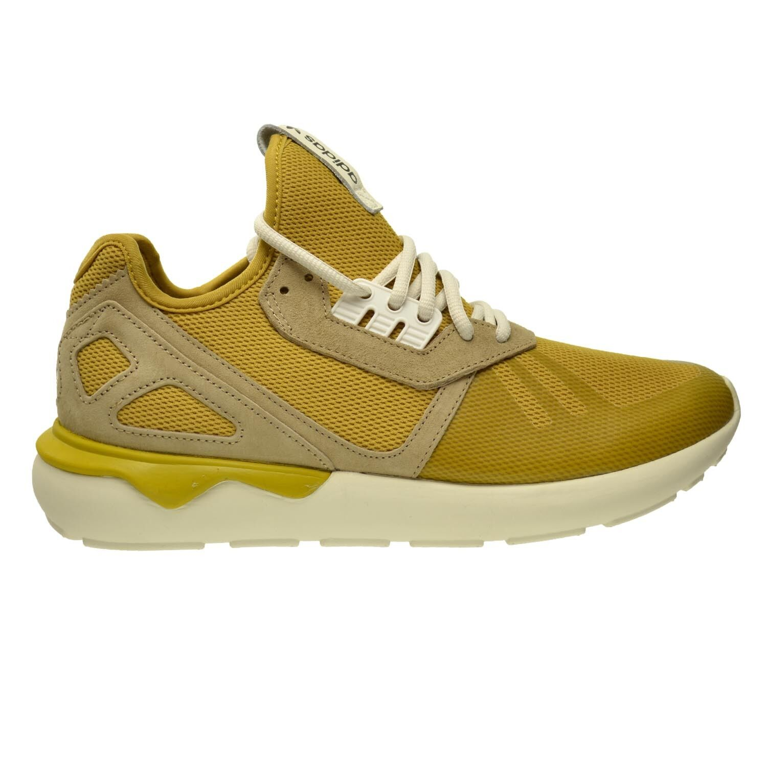 Adidas Tubular Runnner Men's Shoes Spice Yellow/Clear Sand/Legacy White b23886