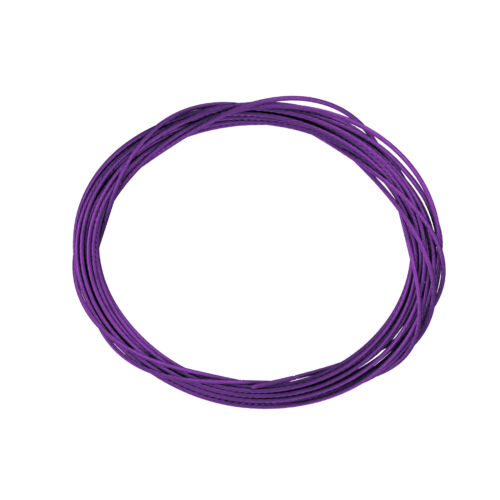 A65//1 1m Metallic Purple 0.5mm Plastic Coated Beading Wire