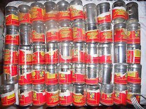 50 Vintage small snuff tins