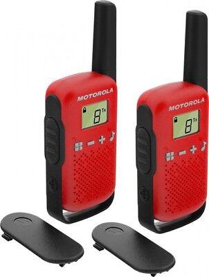 188118 Motorola Talkabout T42 Rot 2er Set Pmr Funk 16 Kanal BüGeln Nicht