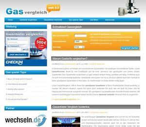 Gas-Affiliate-Vergleichsportal-Geld-Verdienen-PHP-Script