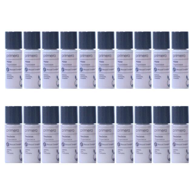 Primera Organience 100ml_Water Toner 10pcs+Emulsion 10pcs Amore Pacific