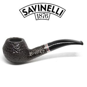 Savinelli-Joker-Rusticated-Pipe-673-6mm-Filter