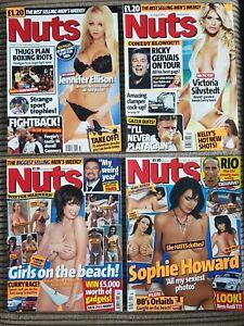 Muttern-Herren-Magazin-Bundle-4-x-Vintage-Early-Sammlerstueck-Fragen-2004