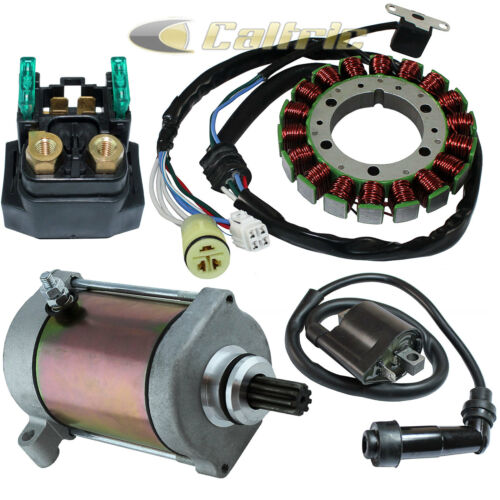 Stator Starter Solenoid Ignition Coil Fits YAMAHA GRIZZLY 400 450 660 2002-2011