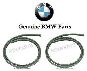 Front Door Seal for Chassis Black For BMW 51727116403 New Weatherstrip Gasket