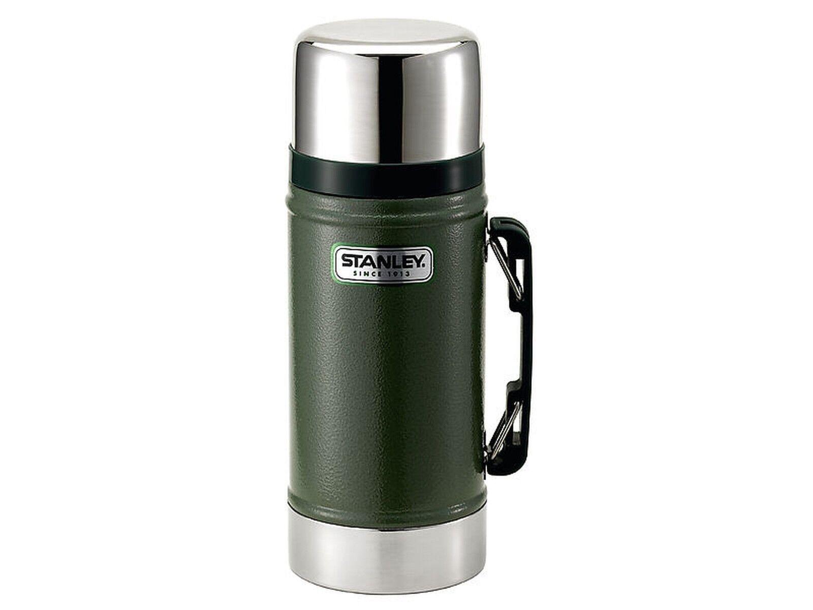 Stanley Classic Vacuum Food-Container, 0.70 Litre, 18 8, grön, 624300