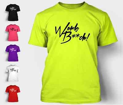 Work Bitch T-Shirt Pop Britney Spears Funny Sexy Music Brittany Tee T Shirt NEON