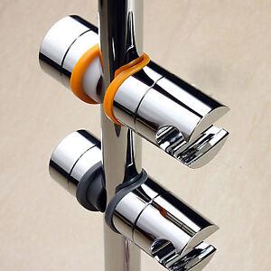 duschkopf schieber gleiter halter stangengleiter f r duschstange 22 25 mm chrom ebay. Black Bedroom Furniture Sets. Home Design Ideas