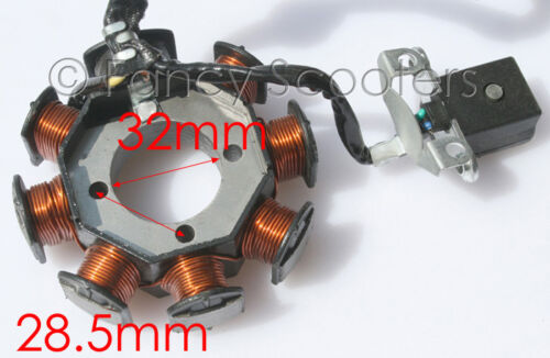 5 WIRES FOR ALL MAJOR BRANDS Peace Sports ATV 250CC Stator K 8 COILS