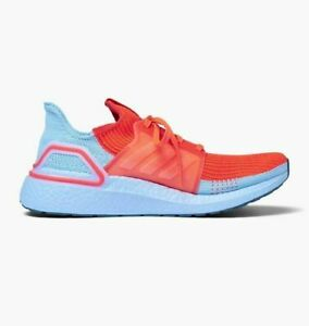Adidas-Running-Ultra-Boost-19-Solar-Red-Blue-Men-Lifestyle-Sneakers-gym-G27505
