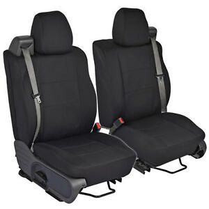 Phenomenal Details About Black Front Pair Custom Seat Covers For Ford F 150 04 08 Integrated Seat Belt Caraccident5 Cool Chair Designs And Ideas Caraccident5Info