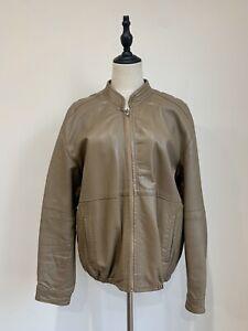 STEPHEN-DATTNER-Mens-Brown-Vintage-Leather-Jacket-Size-L-100cm