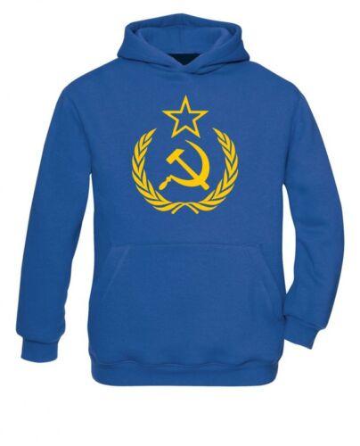 Union soviétique soviet union CCCP russie Communisme Lénine Hoodie//sweat Neuf