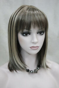D168-Synthetic-Gold-Women-Lady-Medium-Straight-Hair-Natural-Full-Wig-Cospaly-M