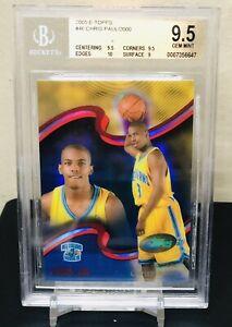 2005-2006-Chris-Paul-eTopps-Topps-Rookie-Card-RC-46-BGS-9-5-GEM-MINT-Hornets