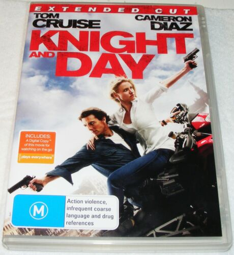 1 of 1 - KNIGHT AND DAY -- Dvd
