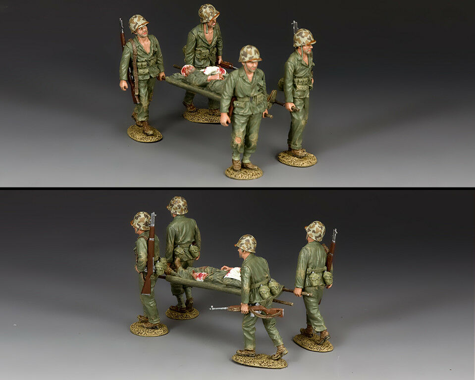 KING AND COUNTRY US Marine The Stretcher Party USMC25 USMC025
